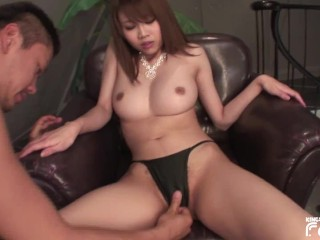 Cute squirts while a guy plays...
