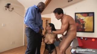 Huge Titty Havana Ginger Milks Lex Steele In Hardcore Interracial 3some!