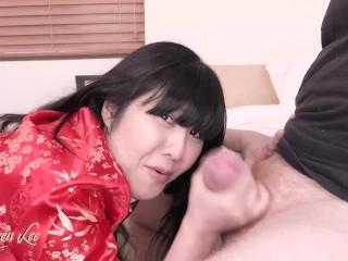 Asian stepmom bully creampie cuckold pov preview...
