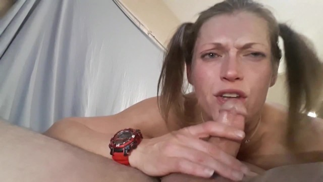 She Loves My Cock Down Her Throat- So I Grab Her Head And Fuck Her Throat 2