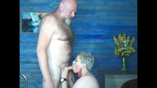 Rural sex of a mature married couple)) Let's check how the pussy of my adult girl is!