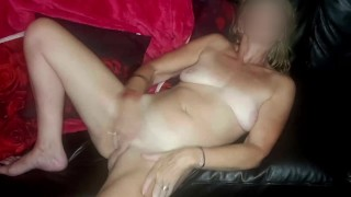 JOI with Pussy Playing & Body-shaking Orgasms - British Mature MILF Instructs, Plays & Cums
