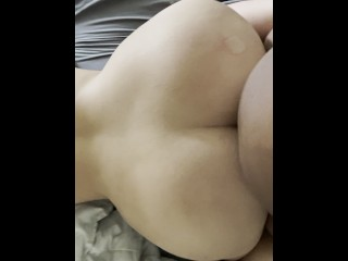 Blonde amateur pawg from behind by bbc...