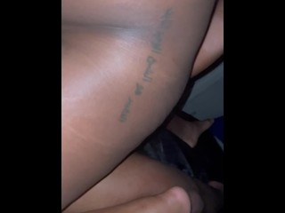 Pregnant Girl Squirt & Cums All Over My Dick