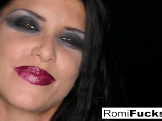 Romi Rain Is Bound and Banged By Big Cock