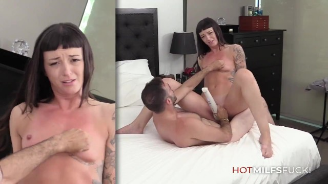 Hot MILF Charlie Valentine First Sex On Camera Taking a Huge Cock And Swallowing Cum