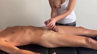 Soft massage, happy end