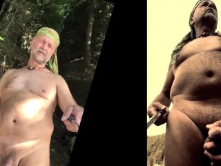 Nudist exposing...