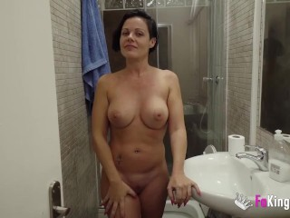 ianca wants 2 HORNY DUDES for HER FIRST DP!