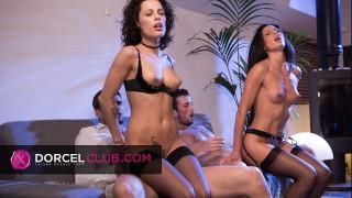 Nikita and Alexa enjoy anal sex with strangers