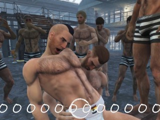 Interactive game you will be put male prison...