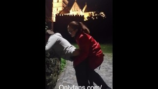 Fucking faggot bitch in Main Square- full clip on my Onlyfans (link in bio)