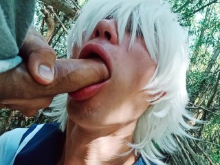 Im tearing my mouth out sissy femboy...