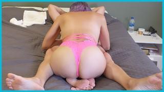 Huge Tits MILF Suck & Fuck In Pink Lingerie FREE PORN