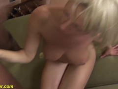 first bbc anal for busty milf