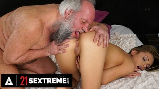21 SEXTREME - Old Man Fucks Natural Titted Dominica Phoenix For Dessert