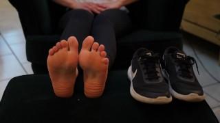 Enjoy these german feet