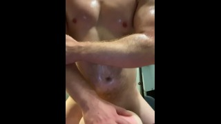 Female POV daddy oiled up and fucks you roughdirty talk and cumshot