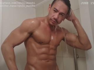 Daddys shower...