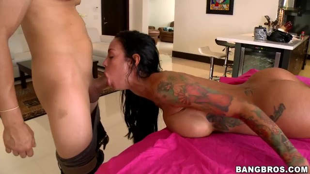 BANGBROS - He Rubs Oil All Over Her Big Tits And Big Ass And Makes Her Cum 13