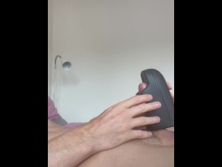 Twink cumshot with toy arcwave ion link on...