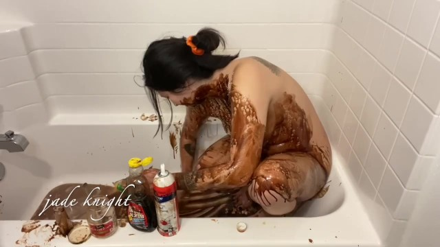 Getting Covered in Sticky Syrup 13