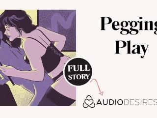 Pegging play erotic audio story male asmr audio...