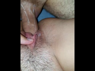 birds singing while covering pussy with cum