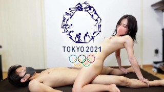 [Hentai Olympic 2021] Remaking 48 Sex Position Pictograms!! [ENG SUB] 夜のオリンピックで48手すべての体位をイクまで再現してみた
