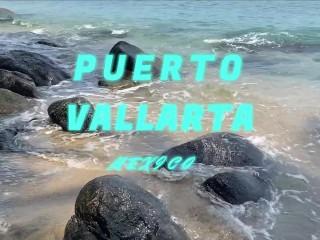 Benji Vega y Xisco en Puerto Vallarta en playa nudista