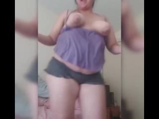 Sc show dancing stripping long dildo fucking and...