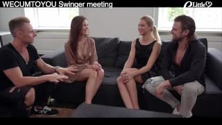 Swinger Group SEX Party - fick meine Frau und ich deine