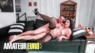 SCAMBISTIMATURI - Amateur Italian Valentina Bianchi Drilled Hard In Her Mature Pussy