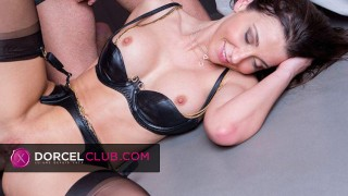 Private orgy with gorgeous Julie Skyhigh in lingerie