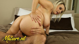 Curvy MILF Gets Her Big Tits, Pussy & Mouth Fucked!