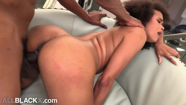 AllBlackX - Natural Beauty Alina Ali Dicked Down By Huge Cock 16