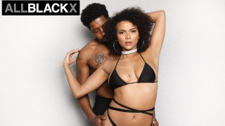 AllBlackX - Natural Beauty Alina Ali Dicked Down By Huge Cock