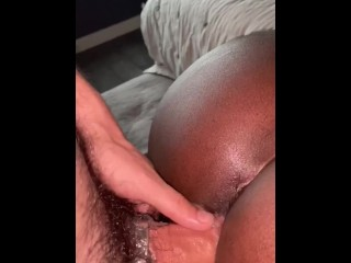 White cock creaming up his bareback...