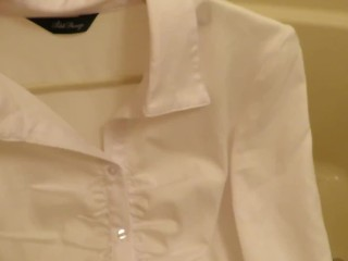 The blouse...