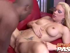 Black Stud Getting Feisty With Heidi Mayne