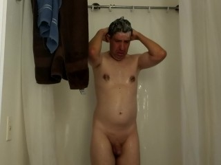 Chrissy nude shower...