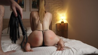 My Sexy Secretary Was Spanked On A Big Ass For An Overdue Report — 4K Spanking