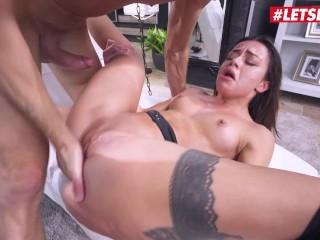 HERLIMIT – 18 Years Old Petite Babe Martina Smeraldi Gets Her Pussy Fucked Hard Full Scene