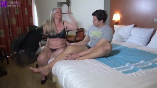 18year cock fucked my milf holes, Bareback, in a hotel!