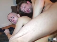 BAREBACKTHATHOLE Jock Drew Dixon Barebacks Bald David Luca