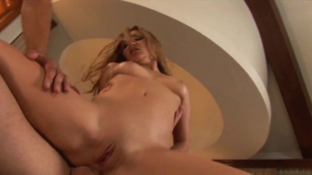 Lusty Blonde Babe Wants To Try Two Huge Cocks Up Her Hungry Holes 10