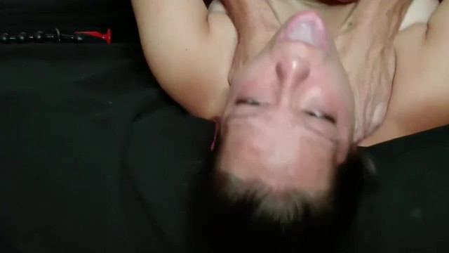 Throat play with butt plug before anal fuck! 28