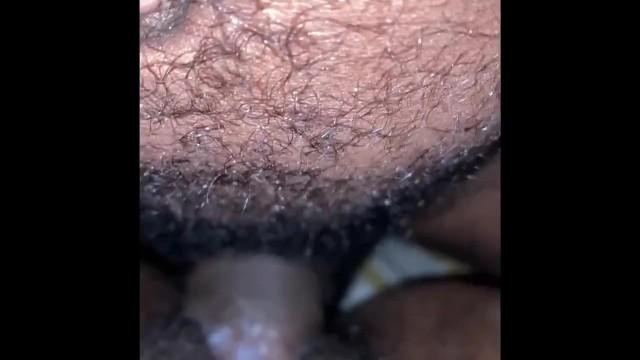 Popeyes  employee clit jumping closeup 17
