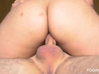 Close up creampie on my girlfriend pussy