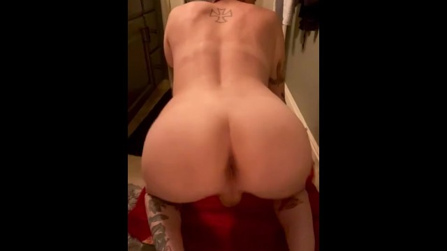 Stretching my ass and lactating 19